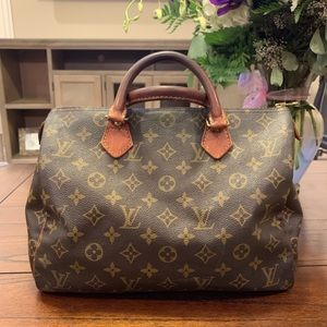 Louis Vuitton vintage speedy 30 Monogram Handbag